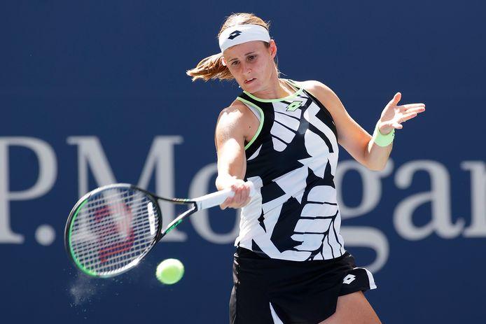 Greet Minnen botst deze week op het WTA-toernooi van Luxemburg opnieuw op de Spaanse Parrizas-Diaz.