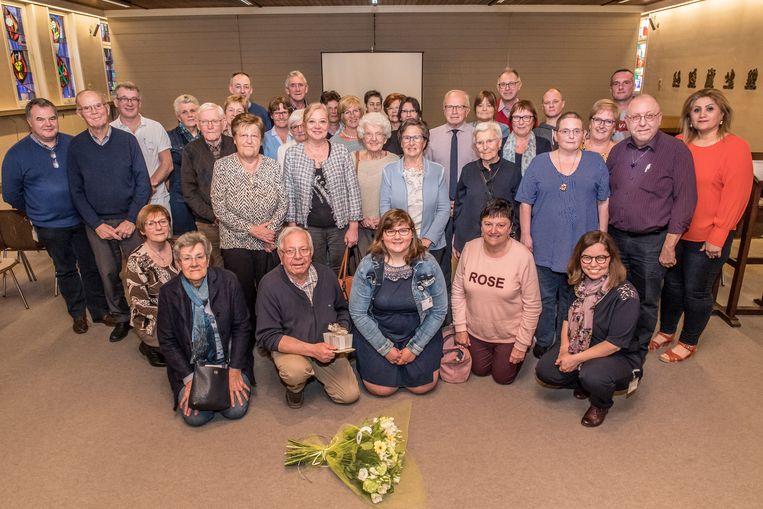 Ook de andere vrijwilligers werden bedankt voor hun inzet voor de Sint-Jozefskliniek.