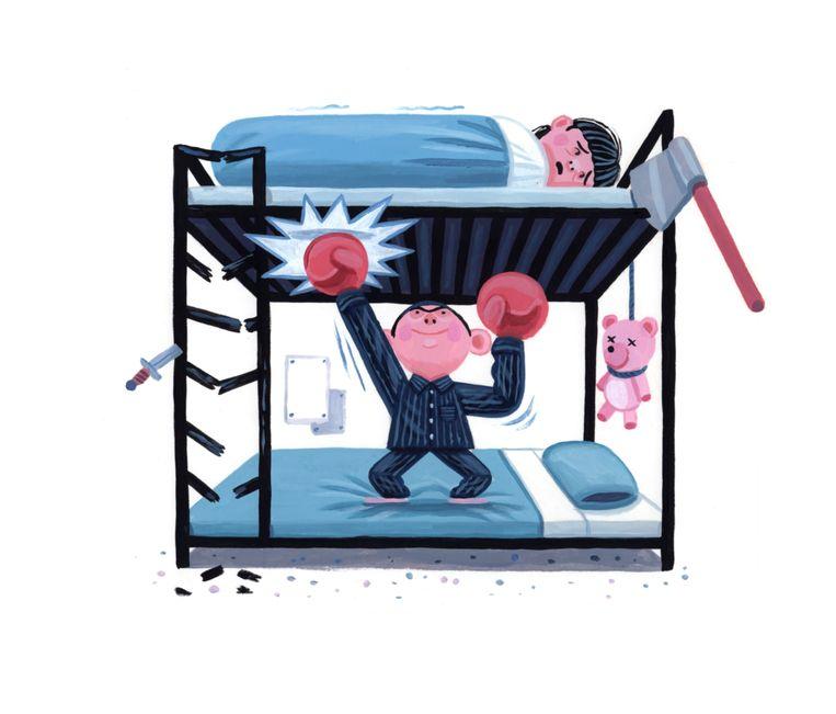 Sibling-geweld kan veel schadelijker en verregaander zijn dan algemeen wordt gedacht. Beeld Pieter Van Eenoge