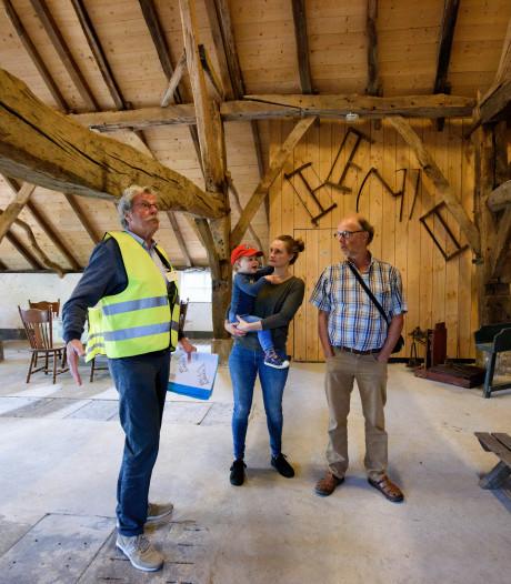Middeleeuwse boerderij  Best trekt 90 bezoekers op open monumentendag
