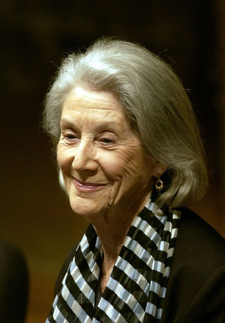 Nadine Gordimer in 2003. Beeld EPA