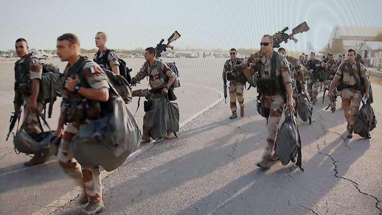Frankrijk stuurde al troepen naar Mali. Beeld AFP