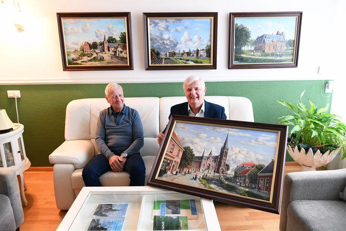 Ton (r) en Jan Lensvelt te Dussen.