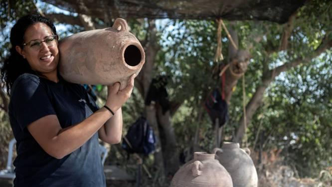 Israël wijnland? Archeologen graven enorme wijnmakerij uit Byzantijnse tijd op