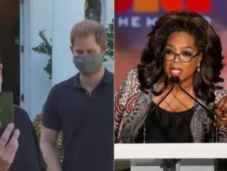 """Oprah is boos op prins Harry en James Corden: """"Ze zijn met haar primeur gaan lopen"""""""