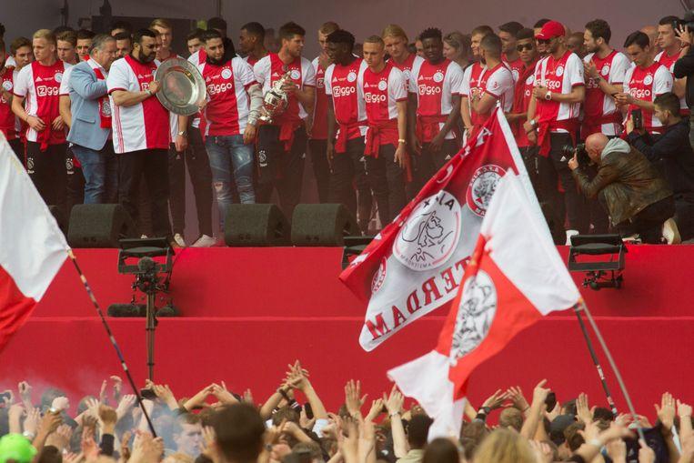 Ajax hoeft straks niet meteen aan de bak in het bekertoernoei.