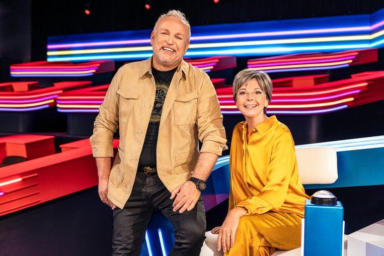 VTM-woordvoerder Tine Danschutter noemt het duo Gordon en Ingeborg 'twee uitersten met één doel: dat ene perfecte K3'tje zoeken waarbij het hele plaatje klopt'.   Beeld VTM