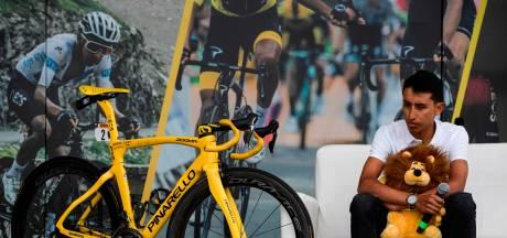 Tourwinnaar Bernal in Colombia: 'We blijven koersen voor Bjorg'
