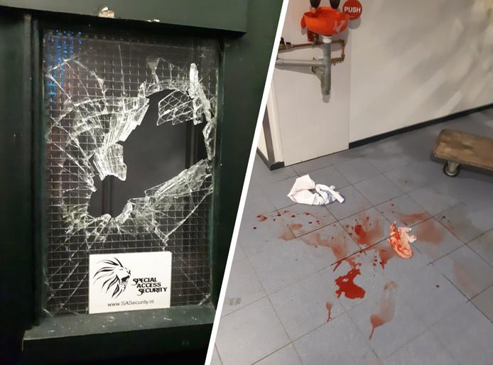 De politie Zutphen deelde na de arrestatie twee foto's op Facebook.