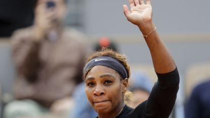 Serena neemt eerste horde op Roland Garros, Wozniacki moet inpakken - Djokovic kent weinig moeite met Pool