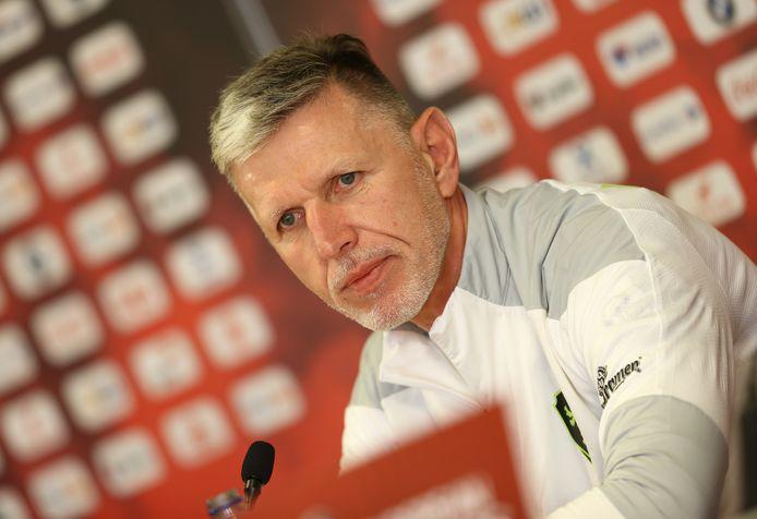 Le sélectionneur tchèque Jaroslav Silhavy n'a pas l'intention d'attendre contre les Diables Rouges.