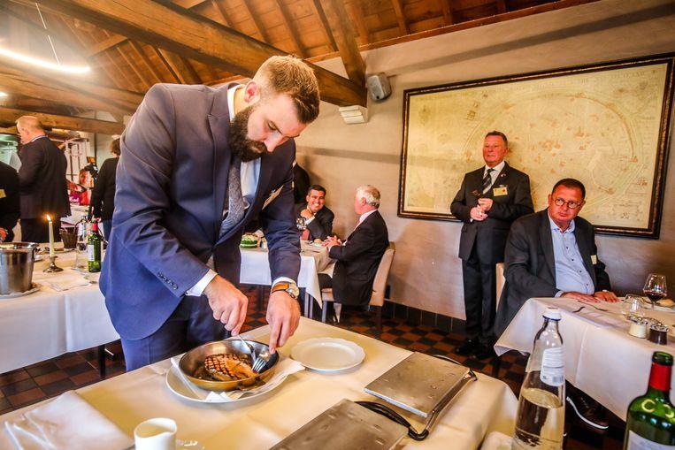 Brugge prosper montagné wedstrijd: de beste maitre d'hôtel is Maxime Verstuyft