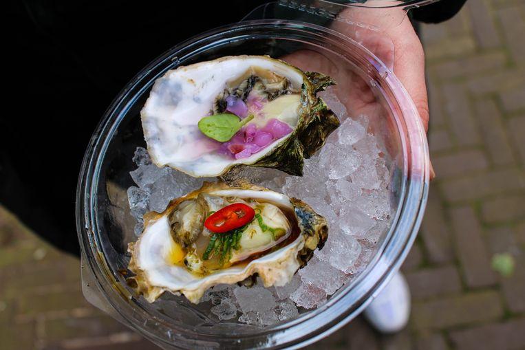 Wandel de oesterwandeling van Shannice Wilner. Beeld geen credit
