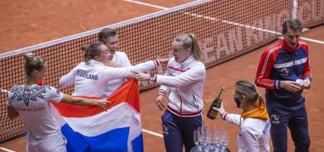 Na het matchpoint vloeien tranen en champagne bij tennissters