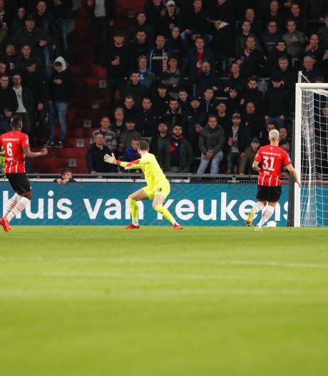 Redan voelt zich lange tijd matchwinner voor PEC Zwolle, maar dan komt de slotfase tegen PSV