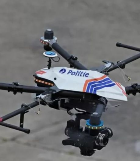 """Des drones utilisés par la police en Flandre, la polémique enfle: """"On se moquait de la Chine mais..."""""""