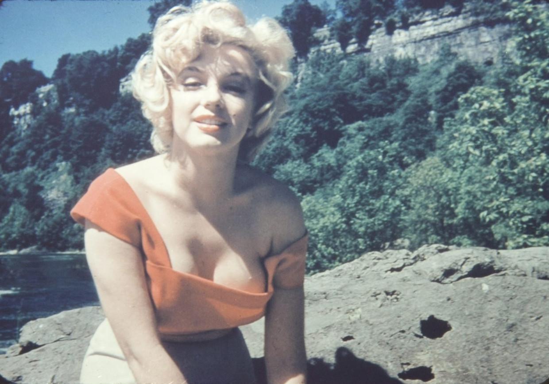 Marilyn Monroe op een foto uit 1953, die in 2012 werd geveild in Beverly Hills. Beeld epa