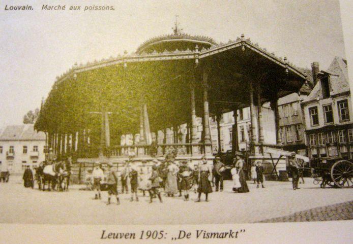 Zo zag de vishal eruit in 1905.
