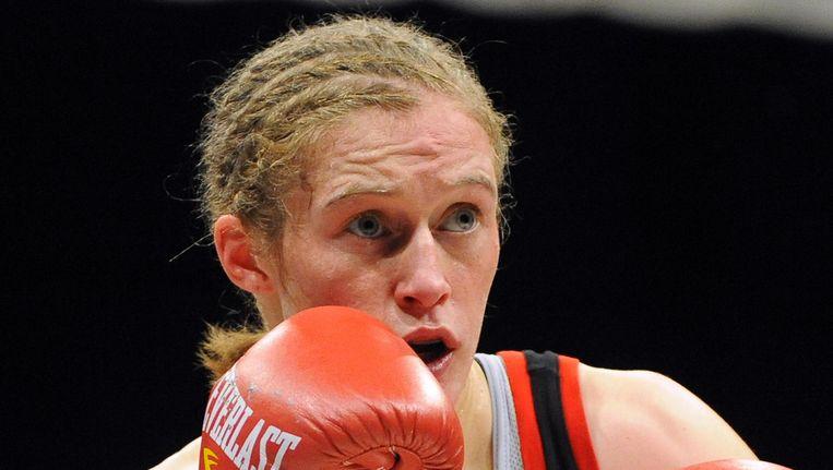 Delfine Persoon haalde het ruimschoots voor Bart Swings en Sven Nys en kan binnenkort ook nog Sportvrouw van het Jaar worden. Beeld BELGA