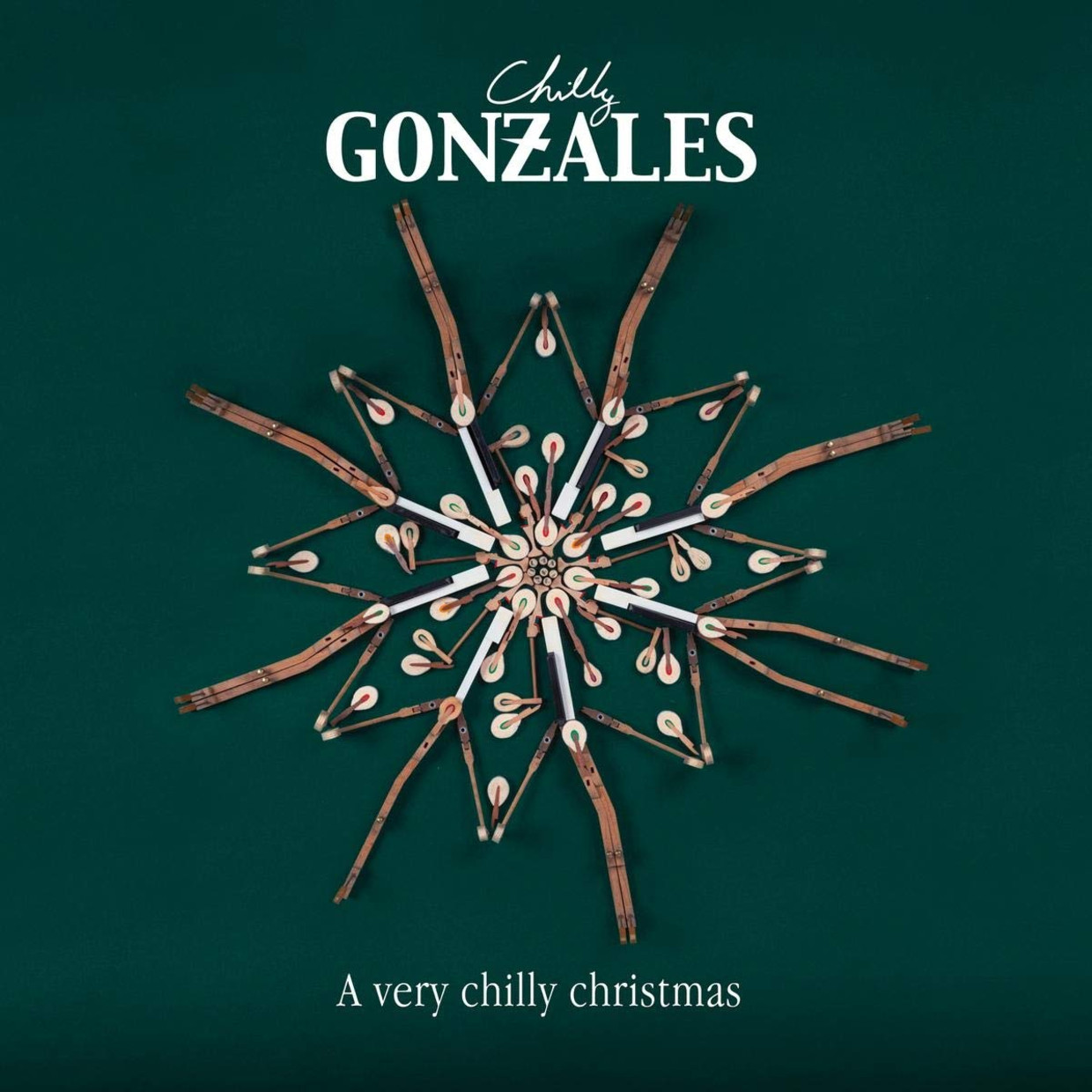 'A Very Chilly Christmas' Beeld Chilly Gonzales