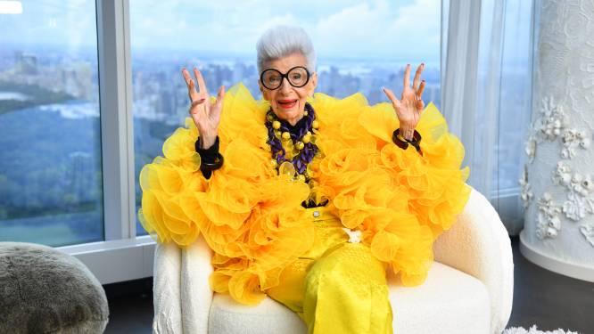 Mode-icoon Iris Apfel viert haar honderdste (!) verjaardag met een eigen collectie bij H&M
