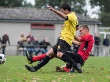 Belhaj is uitblinker bij gehavend Kesteren in derby tegen Uchta: 'Ik ben helemaal leeg'