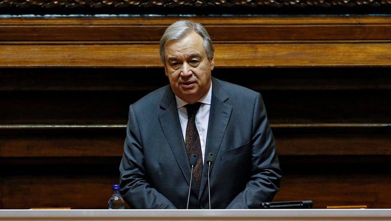 Op 1 januari 207 wordt Antonio Guterres de nieuwe secretaris-generaal van de Verenigde Naties. Beeld EPA
