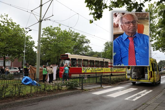 Op de Monseigneur van Steelaan is vrijdag Johan Gangadajal aangereden. Hij overleed kort daarna in het ziekenhuis.
