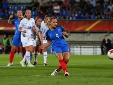 Frankrijk klopt IJsland vanaf de stip in Tilburg
