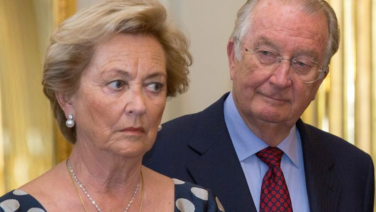 Albert II en Paola Beeld epa