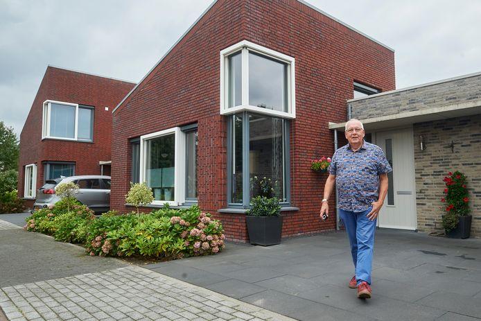 De woning van Henk en Sjan Verschuur uit Heesch.