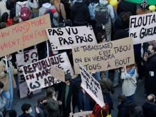 Fransen betogen tegen omstreden wetswijziging en politiegeweld: 46 arrestaties, 37 gewonde agenten