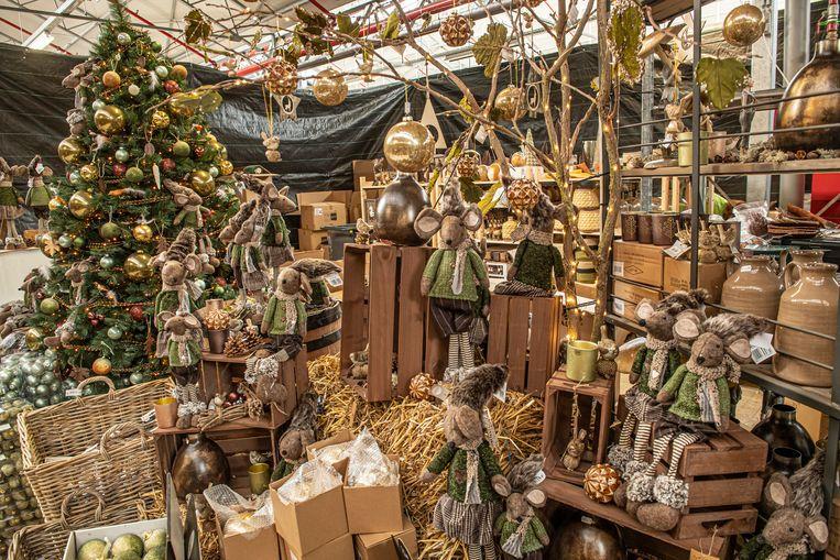 Volop kerstsfeer bij Floralux.