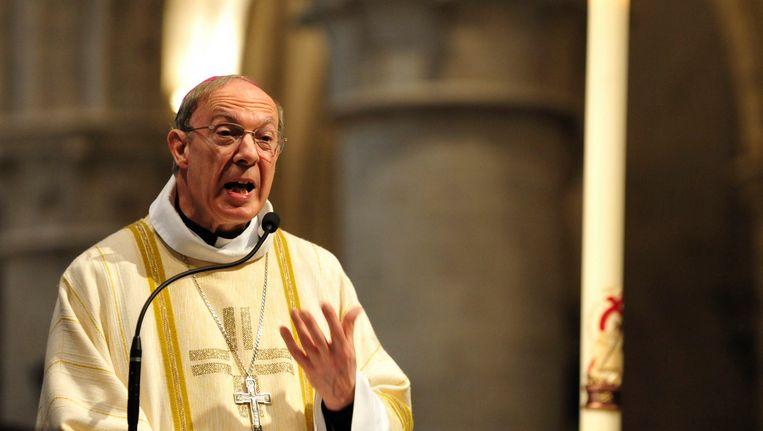 """Aartsbisschop Léonard betreurt het """"schuldig stilzwijgen""""."""