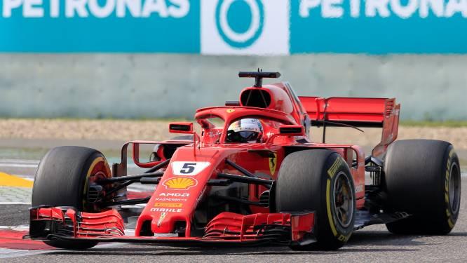 Vettel: Verstappen maakte een fout, dat kan gebeuren