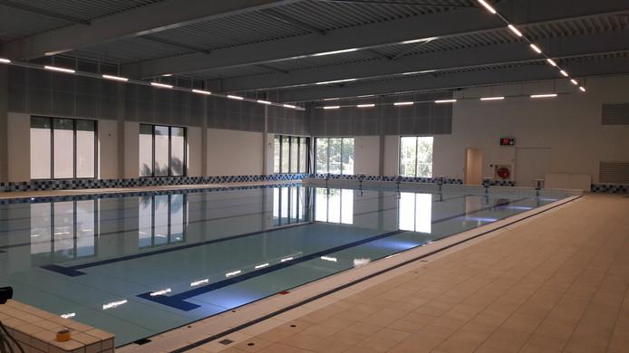 Het nieuwe zwembad in Hilvarenbeek