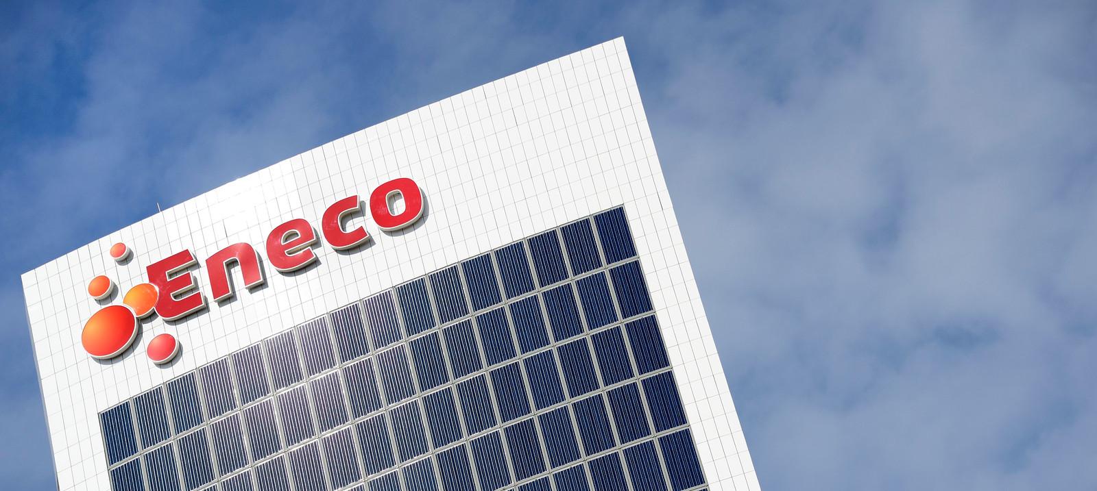 Eneco profileert zich nadrukkelijk als duurzaam energiebedrijf. ANP XTRA LEX VAN LIESHOUT
