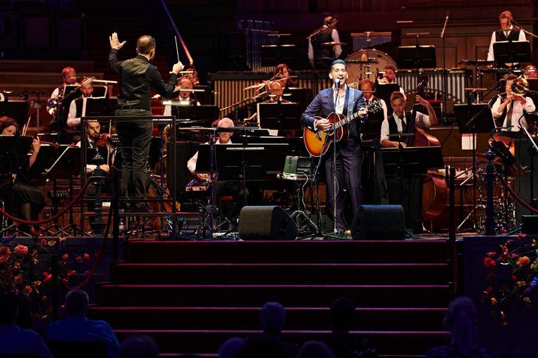 Danny Vera met het Metropole Orkest: 'En dan sta je in ene in het fokking Concertgebouw...' Beeld Milagro Elstak