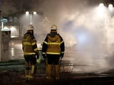 Rellen in migrantenwijk Stockholm