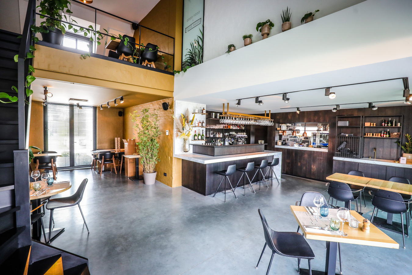 Om binnen te mogen lunchen en te dineren in de nieuwe De Goeste, heb je nog wat geduld nodig.
