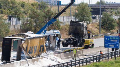 E19 weer helemaal vrij na ongeval met truck
