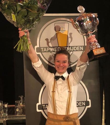 Amber (26) tapt het beste biertje van Nederland