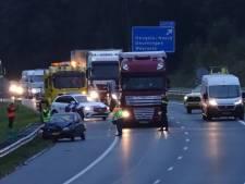 Veel ongelukken in Twente tijdens drukste spits van het jaar, file tussen Hengelo en Oldenzaal weer opgelost
