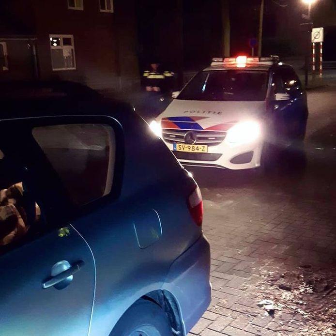 Automobilist opgepakt in Eersel voor rijden onder invloed van drugs.