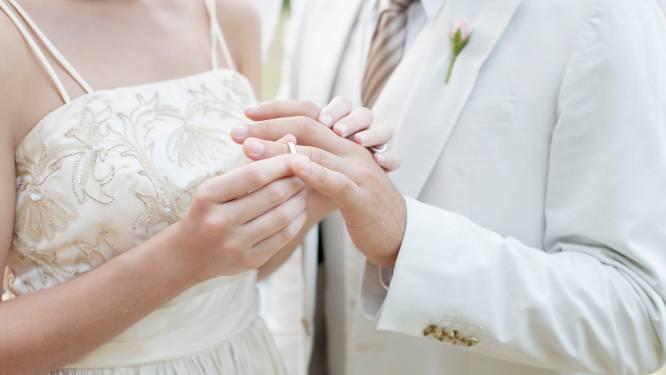 """Voorlopig geen huwelijken in openlucht: """"Moeilijk om te organiseren"""""""