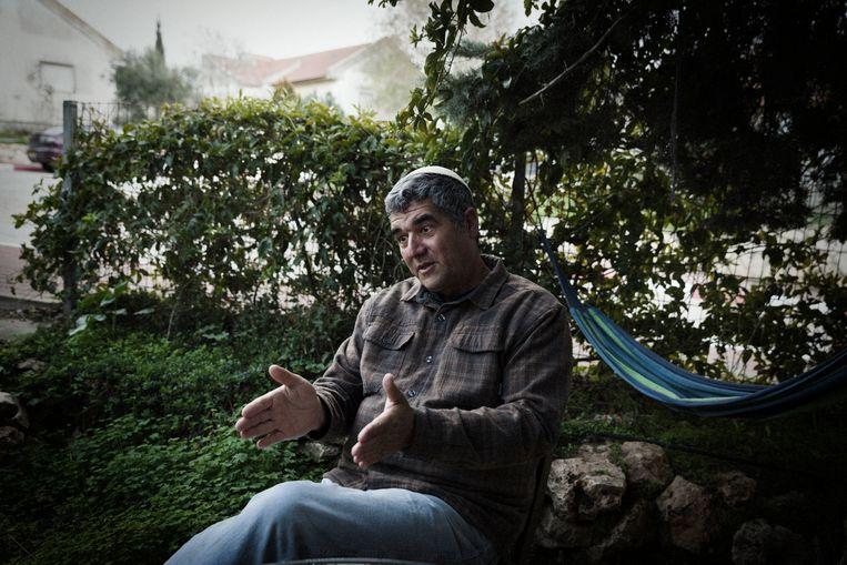 David Haivri: 'De wereld is nu eenmaal hard.' Beeld Daniel Rosenthal