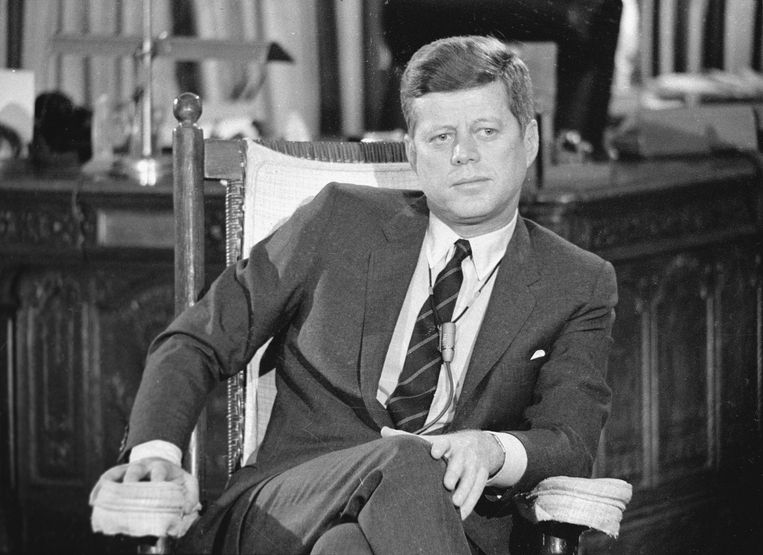 John F. Kennedy. Beeld Getty Images