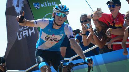 """Ben Hermans slaat dubbelslag in koninginnenrit Ronde van Utah: """"Een zege voor Bjorg"""""""
