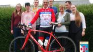Opvoeder Rik fietst 2.000 kilometer naar Compostella om geld in te zamelen voor belevingstuin de Vleugels waar hij werkt