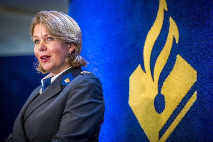 Ingrid Schafer, politiechef van de eenheid Limburg.